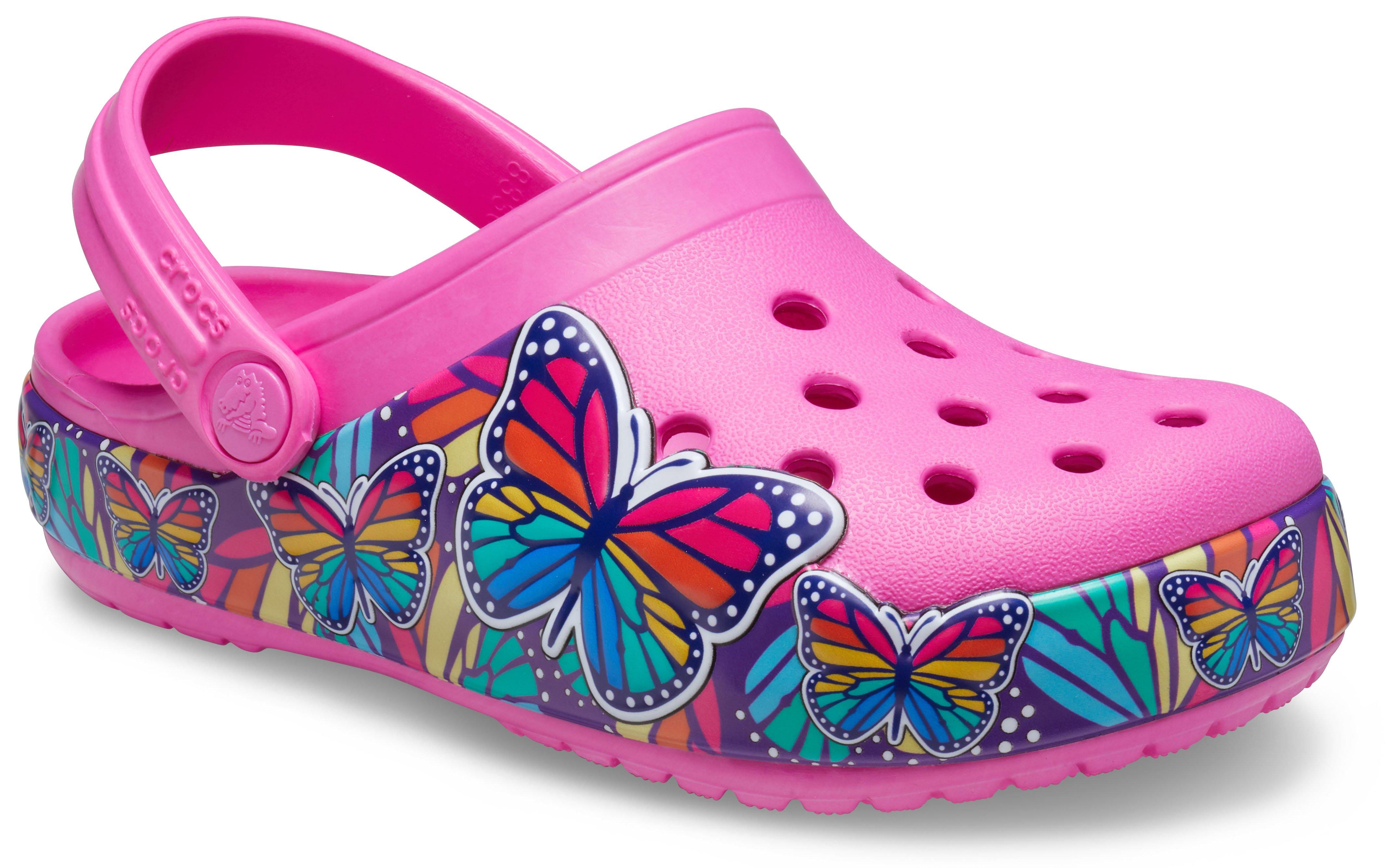 Crocs Fun Lab Multi Butterfly Band