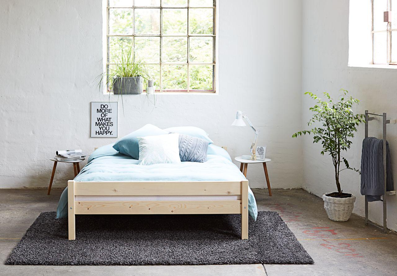 Bed frame SALLINGE 140x200 natural